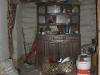 Die Küche in einer der Hütten
