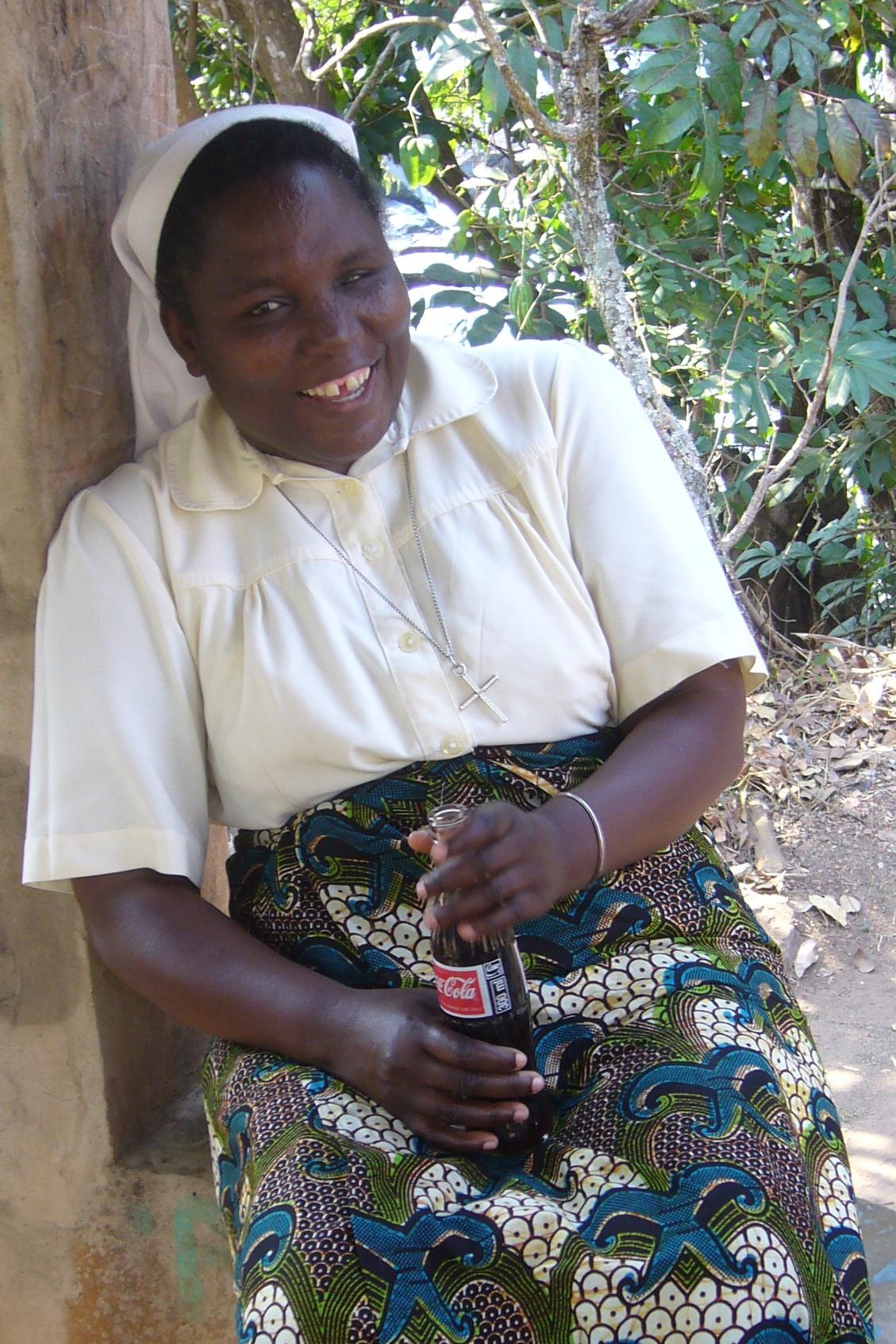 Schwester Regina Nkandu