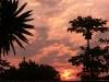 Sonnenuntergang in Kasama