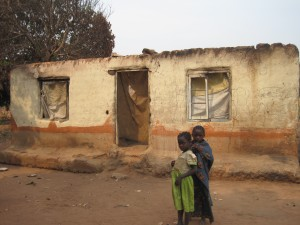 Ireens abgebranntes Haus